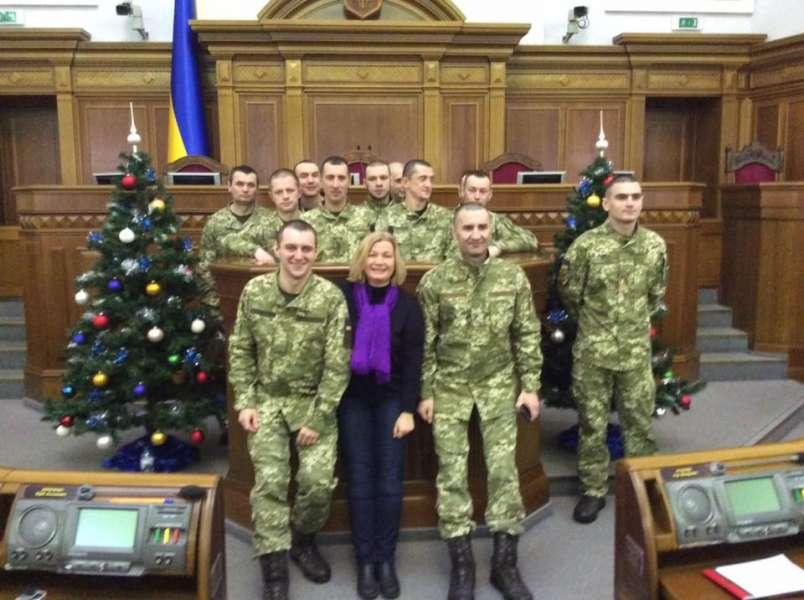 Ірина Геращенко зустрілась із звільненими українськими заручниками та їхніми рідними