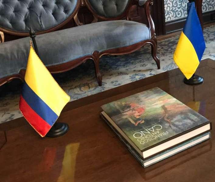 Під час візиту до Колумбії Перший заступник Голови Верховної Ради України Ірина Геращенко провела зустріч із Заступником Міністра закордонних справ Колумбії Патті Лондоньо