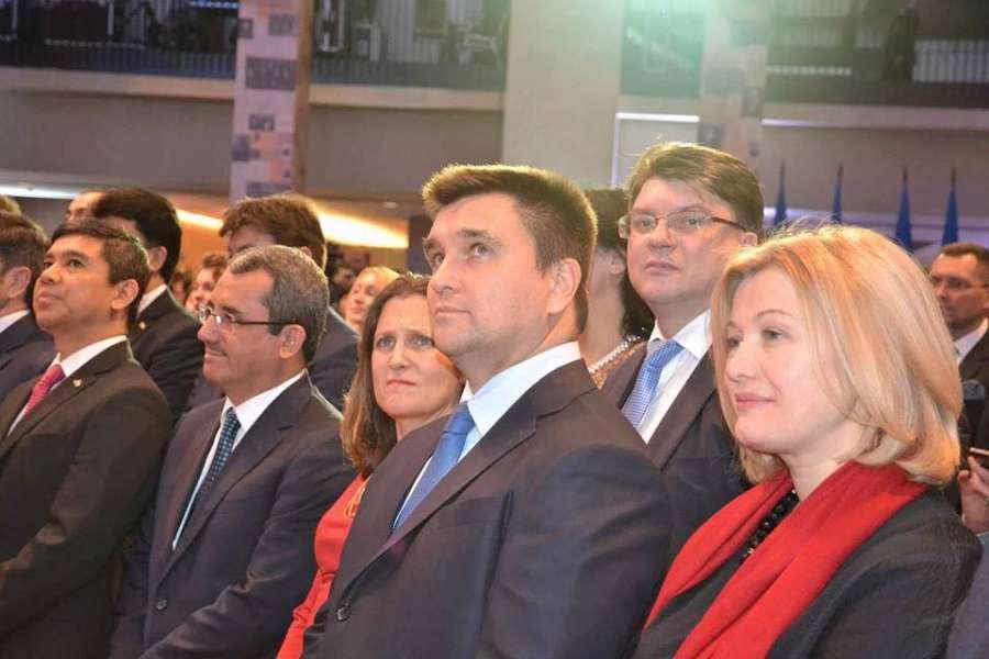 Перший заступник Голови Верховної Ради України Ірина Геращенко взяла участь в урочистостях з нагоди відзначення 100-річчя дипломатичної служби України