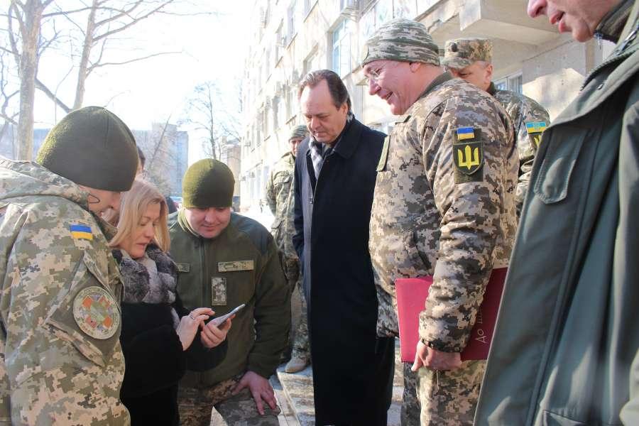 Перший заступник Голови Верховної Ради України Ірина Геращенко відвідала військово-медичний клінічний центр Південного регіону у місті Одеса