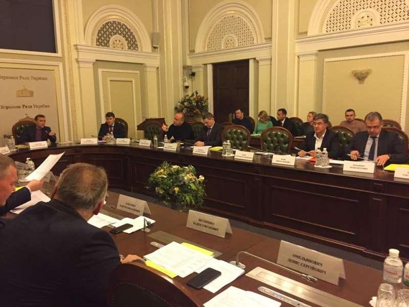 Комітет з питань аграрної політики та земельних відносин розглянув проекти законів щодо страхування сільськогосподарської продукції