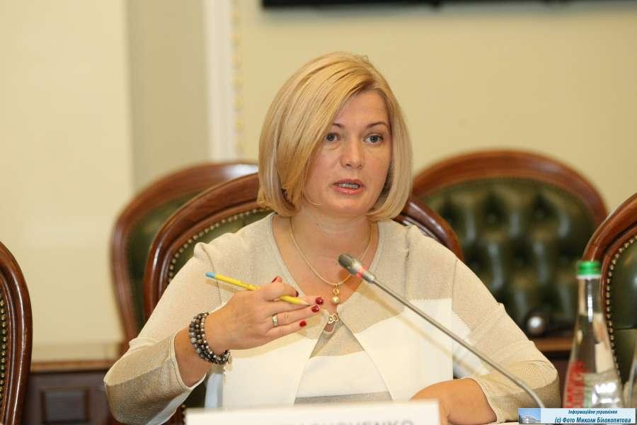 І.Геращенко пропонує звернутися до Представництва ЄС в Україні з проханням надати технічну допомогу Комітету з євроінтеграції і Уряду з проведення експертизи законопроектів, що стосуються імплементації Угоди про асоціацію на відповідність нормам європейського права