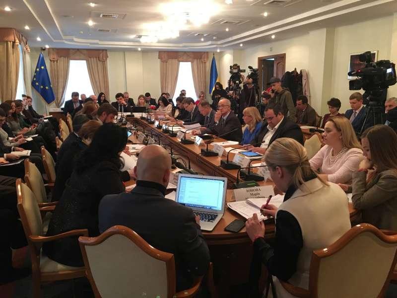 Комітет з питань європейської інтеграції провів засідання, присвячене плану заходів на 2018 рік з імплементації Угоди про асоціацію між Україною та ЄС