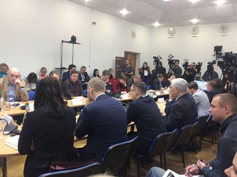 Голова Комітету з прав людини Григорій Немиря взяв участь у зустрічі Національної платформи «Діалог про мир та безпечну реінтеграцію»