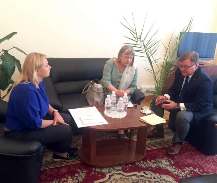 Голова Комітету з прав людини Григорій Немиря провів зустріч з Директором Н ...