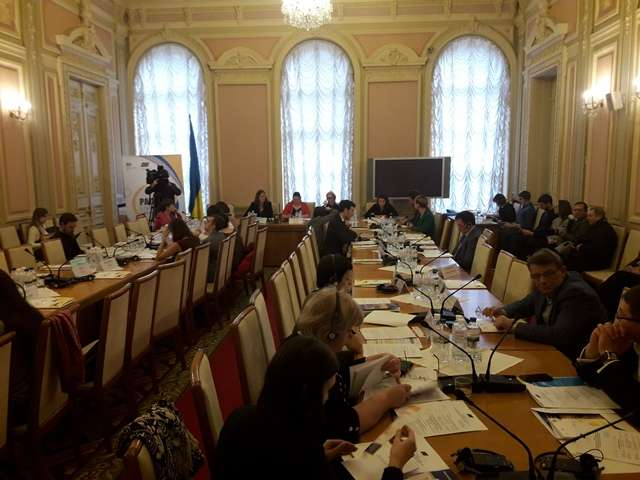У Верховній Раді відбувся круглий стіл з проблемних аспектів забезпечення виконання Україною норм міжнародного гуманітарного права
