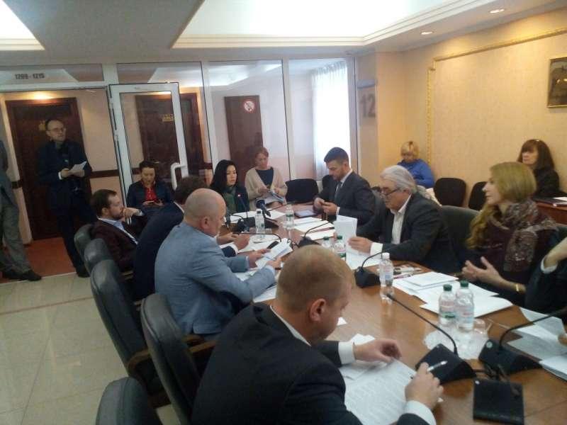 Комітет з питань свободи слова та інформаційної політики відкоригував свою позицію щодо підходів до удосконалення законодавчого регулювання у сфері зовнішньої реклами