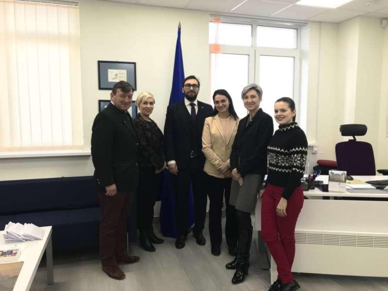 Відбулася зустріч голови Комітету у закордонних справах Г.Гопко з головою П ...
