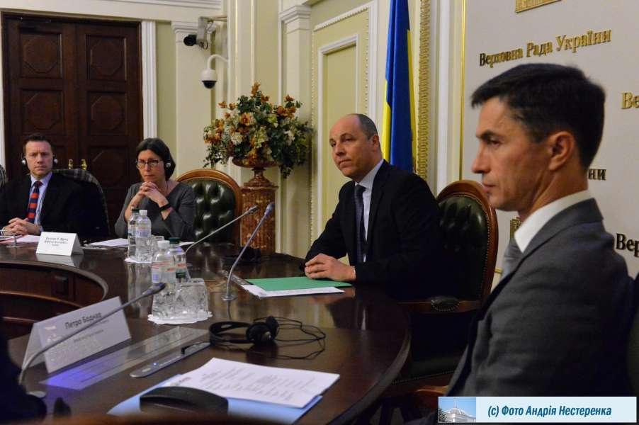 Андрій Парубій: Подякував місії Агентства USAID за важливий внесок у розвиток демократії в Україні і розвиток українського парламенту (відео)