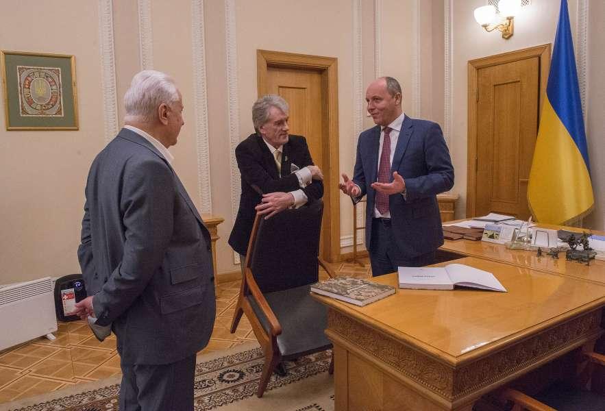 Голова Верховної Ради відгукнувся на пропозицію Президентів України щодо запровадження Дня української державності
