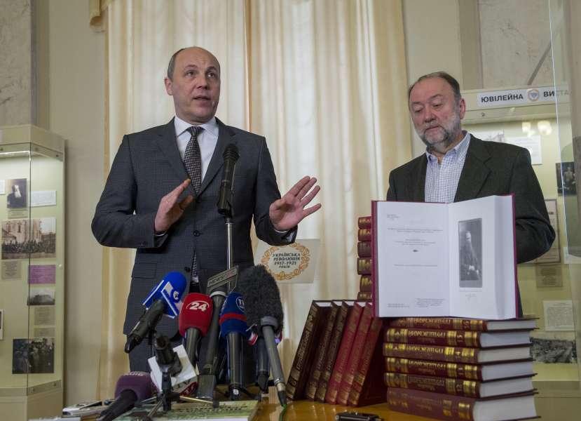 «Сьогодні головне завдання – втримати українську державність у боротьбі проти російського агресора», - Голова Парламенту Андрій Парубій